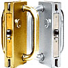 CRL 4x10 Custom Center Locks with Deadlatch, Keepers for DE4102 Series Locks