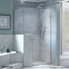 "Dreamline Unidoor Plus - Half Shower Enclosures - 37""-45"" Width Range"