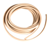 Soft High-Flex Beige Rubber Tubing for Food, Beverage and Dairy Applications