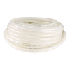 Firm Flexible Sturdy Polyethylene Semi-Clear White Tubing for Food and Beverage Applications