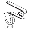 "STB Sliding Screen Door Roller, Spring Tension Type, Steel Wheel, 1"" Diameter"