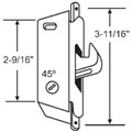 "STB Sliding Glass Patio Door Lock, Mortise Type, 3-11/16"" Screw Holes"