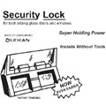 STB Security Lock for Sliding Glass Doors and Windows