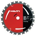 "Hilti SC-C WU 6-1/2"" Diameter 5/8"" Arbor Blade for Wood - 2005347"