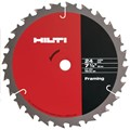 "Hilti SCB W/W-CSC 7-1/4"" x T24 GP General Purpose Circular Saw Blades for Wood - 290210 - Pack of 10"