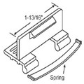 STB Sliding Window Latch and Pull, Extruded Aluminum, with Spring, Black, 1-13/16""