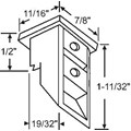 Top Sash Guide for Window Channel Balances, White
