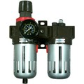 CRL Air Filter Regulator and Lubricator With Gauge
