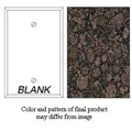 Granique Blank Cover Plate, Baltic Brown