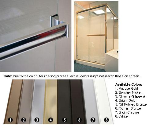 Shower Towel Broke: Frameless Shower Door