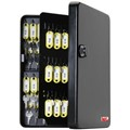 KeyGuard Combination Key Cabinet with Managerial Key Override - 122 Hooks