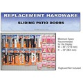 CRL Sliding Patio Door Replacement Hardware Display for California, Arizona, Nevada
