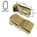 Sterling by Kohler Shower Door Towel Bar Brackets - Polished Brass
