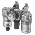 Ultra-Compact Modular Air Filter, Regulator, and Lubricator - Inline
