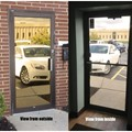 "Mirrored Gold Privacy Window Film, 12"" x 100 ft."