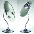 Zadro Tri-Optics Oval Mirror with 1x-3x & 8x Magnification in Chrome Finish