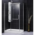 DreamLine SHEN-1131458-01 PANORAMA 31 x 45 x 76 Shower Enclosure, Chrome Finish - DISCONTINUED - LOW STOCK