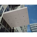 CRL Custom Non-Directional Stainless Premier Series Canopy Panel System