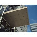 CRL Custom Polished Bronze Premier Series Canopy Panel System