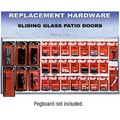 CRL Sliding Glass Door Replacement Hardware Display