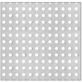 "CRL Custom Perforated Infill Panel - 1/4"" Round Straight Holes"
