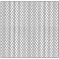 "CRL Custom Perforated Infill Panel - 1/8"" Round Holes"