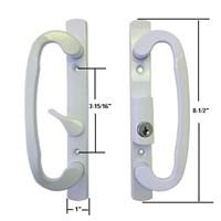 sliding glass patio door hardware mortise locks handles