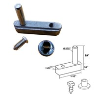 Pivot Block With Pin For Framed Swing Shower Door Fpdsc4254