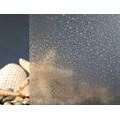 "Clear Crystal Ice Chip Privacy Window Film 48"" Wide x 1yd. Sold by the yard as one continuous roll."