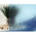 "Blue Gems Cut Glass Static Cling Window Film, 35"" Wide x 9 ft"