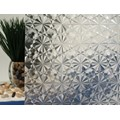 "Clear Kaleidoscope Static Cling Window Film, 35"" Wide x 6.5 ft"
