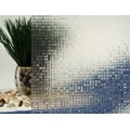 "Clear Mini Mosaic Cut Glass Static Cling Window Film, 35"" Wide x 6.5 ft"