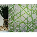 "Privacy Web Green Static Cling Window Film, 36"" Wide x 1 yd.  Sold by the yard as one continuous roll."