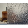 "Mini Honey Combs Static Cling Window Film, 36"" Wide x 1 yd.  Sold by the yard as one continuous roll."