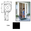 "Retractable Screen System for Single Doors, Black, 42"" x 84"""