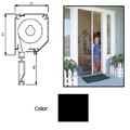 "Retractable Screen System for Single Doors, Black, 60"" x 84"""
