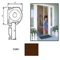 "Retractable Screen System for Single Doors, Brownstone, 42"" x 84"""