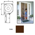 "Retractable Screen System for Single Doors, Brownstone, 60"" x 84"""