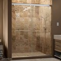 DreamLine SHDR-1348760-01 Charisma 44 - 48 in. W x 76 in. H Bypass Sliding Shower Door, Chrome Finish