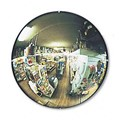 "12"" Acrylic Convex Mirror Indoor with Hardboard Backing"