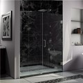 "DreamLine SHDR-23547210-04 UnidoorLux Frameless Shower  54"" x 72"" Hinged Shower Door"