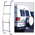 CRL Universal Aluminum Van Ladder for Full Size Vans