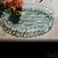 Venetian Cast Glass Oval Platter - Deep Safari Series - Small