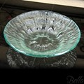 Venetian Cast Glass Triple Tier Round Bowl - Medium