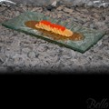 Venetian Cast Glass Sushi Platter - Sunken Oval Series