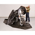 Zerust 145 in x 70 in Motorcycle Storage Cover with Soft Lining
