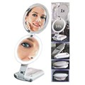 10X/1X Zadro ULT110 ULTIMATE Lighted Travel Makeup Mirror  | Replaced with Model ULT111