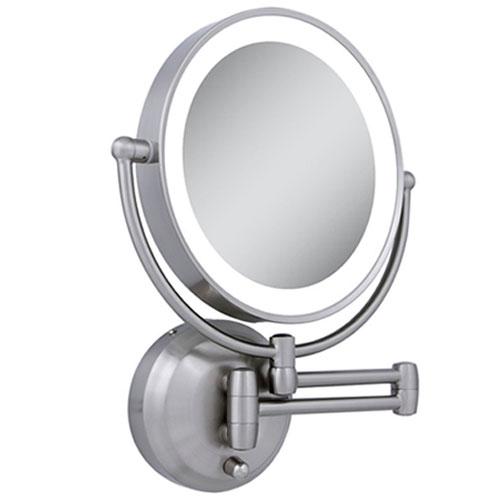 Zadro Ledw410 Led Lighted 10x 1x Round, Zadro Makeup Mirror Replacement Bulbs