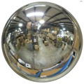 "16"" Acrylic DomeVex Wide View Convex Mirror Indoor with Hardboard Backing and Telescoping Bracket"