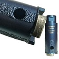 "Supreme 4"" Laser Welded Stone Dry or Wet Core Bit Tube 1""Diameter"